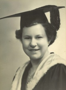 Ruth's capping, 8 May, VE Day, 1945